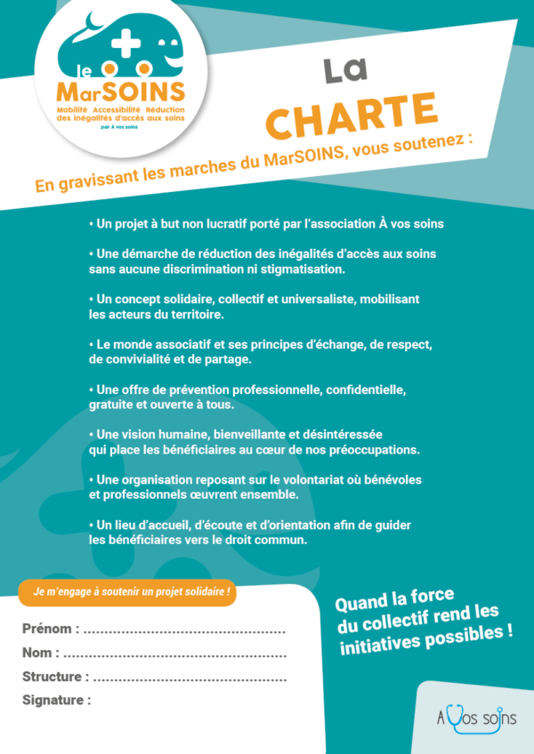 La charte du MarSOINS